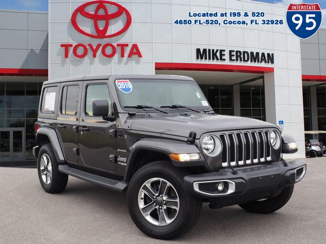Pre-Owned 2019 Jeep Wrangler Unlimited Unlimited Sahara