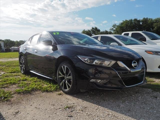 Certified Pre-Owned 2017 Nissan Maxima 3.5 Platinum