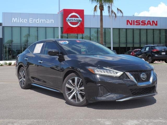 Certified Pre-Owned 2019 Nissan Maxima 3.5 S