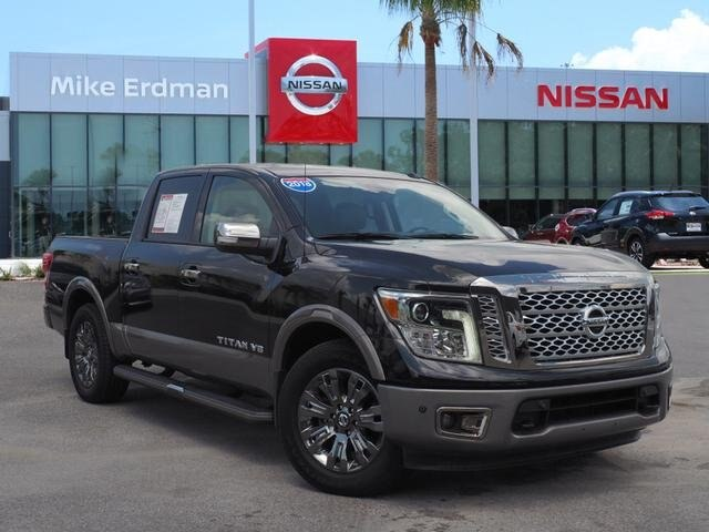 Pre-Owned 2018 Nissan Titan Platinum Reserve