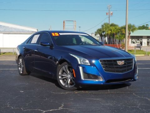 Pre-Owned 2015 Cadillac CTS 3.6L Twin Turbo Vsport Premium