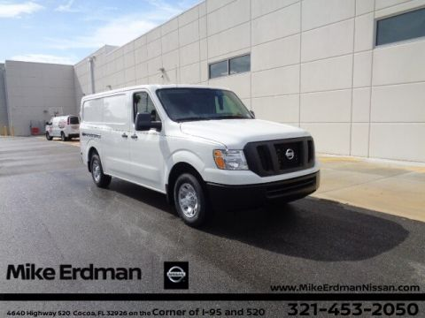 New 2020 Nissan NV Cargo NV2500 HD SV V6